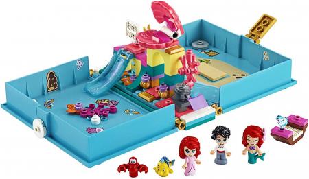 LEGO  DISNEY AVENTURI DIN CARTEA DE POVESTI CU ARIEL 43176 [1]