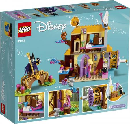LEGO DISNEY PRINCESS  AURORA FOREST COTTAGE 43188 [6]