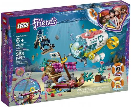 LEGO FRIENDS MISIUNEA DE SALVARE A DELFINILOR 41378 [0]