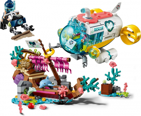 LEGO FRIENDS MISIUNEA DE SALVARE A DELFINILOR 41378 [1]