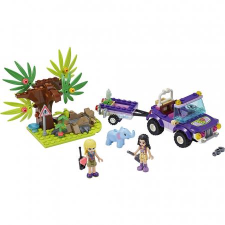 LEGO FRIENDS  SALVAREA PUIULUI DE ELEFANT DIN JUNGLA 41421 [2]
