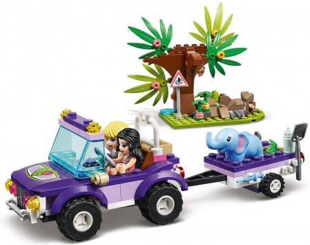 LEGO FRIENDS  SALVAREA PUIULUI DE ELEFANT DIN JUNGLA 41421 [1]