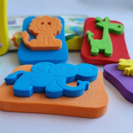 Set creativ cu stampile - Jungle3