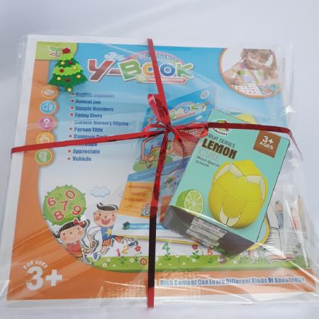 Cadou 5-7 ANI - Invatare Limba Engleza + Cub Rubik Lamaie1