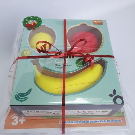 Cadou 5-7 ANI - Invatare Limba Engleza + Set Cuburi Rubik Fructe1