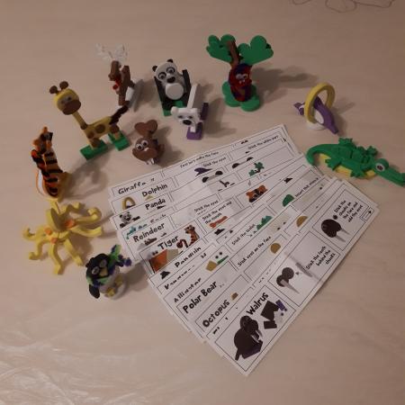 Puzzle 3D Animale6