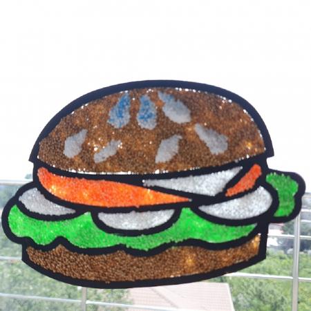 Set creativ stickere pentru fereastra – Yummy Treats3