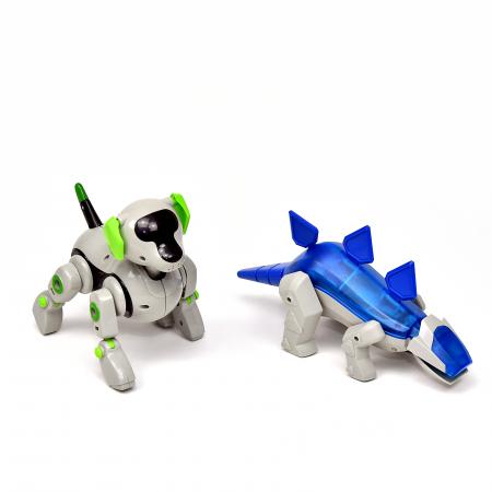 Pachet Roboti Electromecanici - Catel si Dinozaur [2]