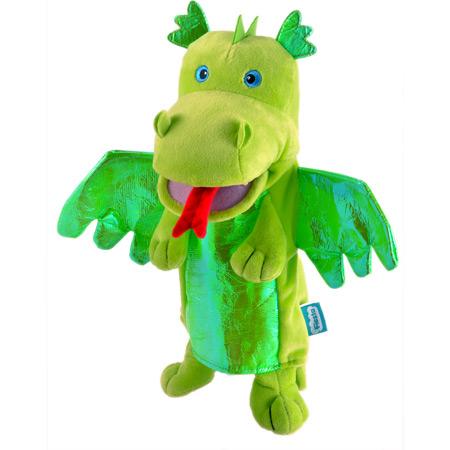 Personaj teatrul de papusi - Dragonul / Green Dragon - Fiesta Crafts0