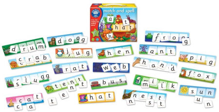 Potriveste si formeaza cuvinte / MATCH AND SPELL1