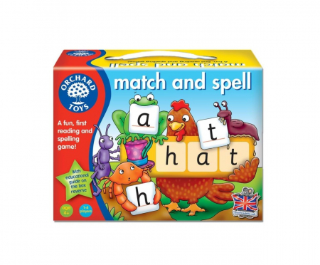 Potriveste si formeaza cuvinte / MATCH AND SPELL0
