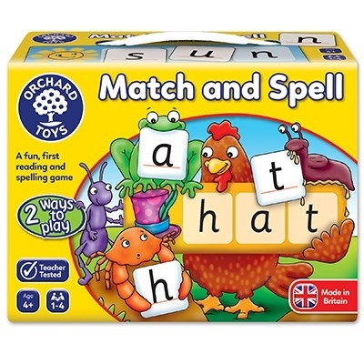 Potriveste si formeaza cuvinte / MATCH AND SPELL2