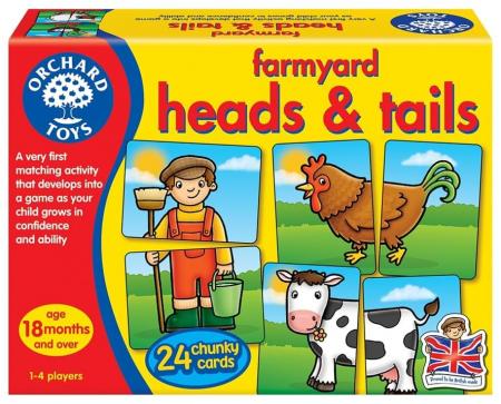 Prietenii de la ferma / FARMYARD HEADS & TAILS0