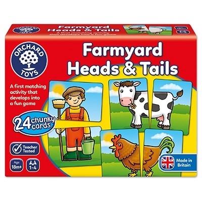 Prietenii de la ferma / FARMYARD HEADS & TAILS3