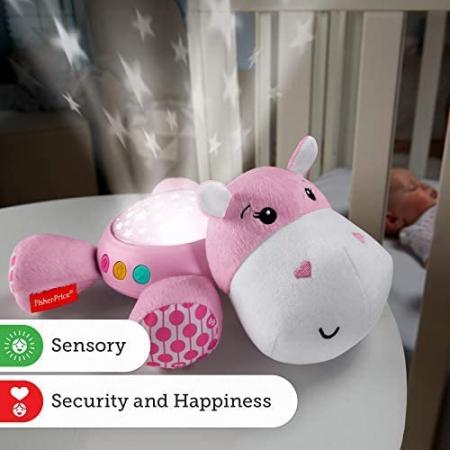 Proiector Hipopotam roz Fisher Price [2]