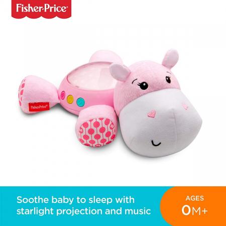 Proiector Hipopotam roz Fisher Price [6]