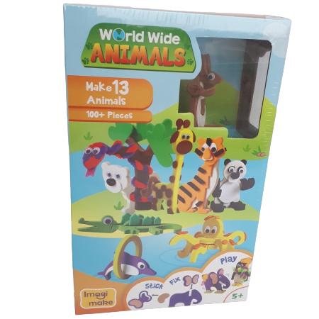 Puzzle 3D Animale0