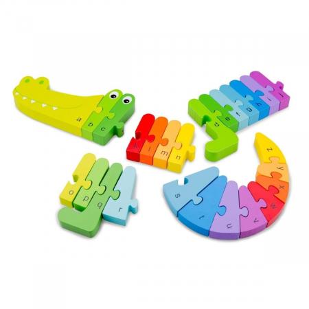 Puzzle Alfabet - Crocodil2