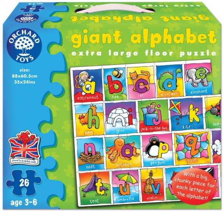 Puzzle Alfabetul / GIANT ALPHABET [0]