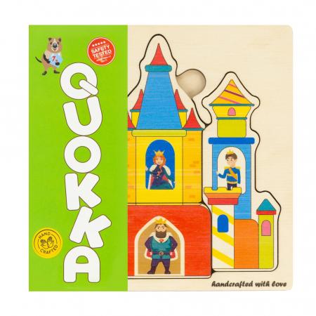 """Puzzle """"Castelul"""" - jucarie educativa Quokka0"""