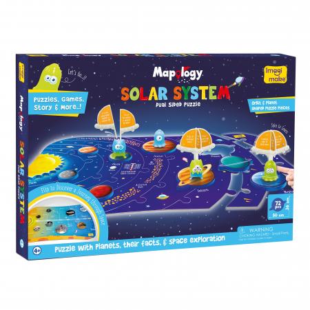Puzzle cu doua fete - Sistemul Solar [0]
