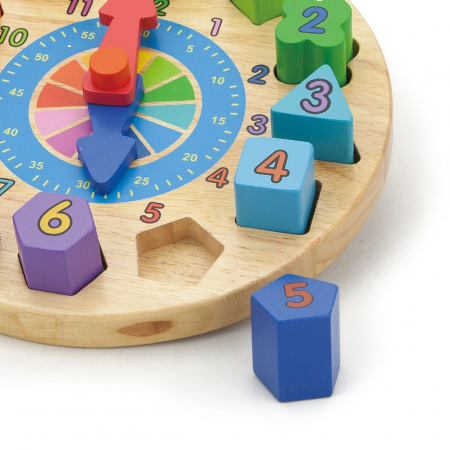 Puzzle din lemn Ceas [1]