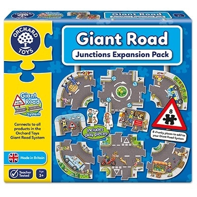 Puzzle gigant de podea Intersectii (10 piese) GIANT ROAD EXPANSION PACK JUNCTION0