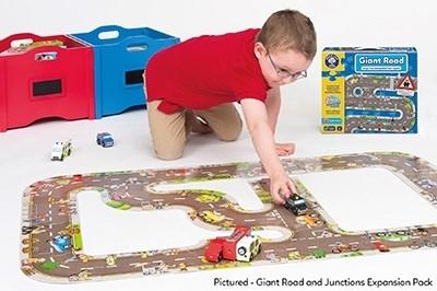Puzzle gigant de podea traseu masini (20 piese) GIANT ROAD JIGSAW3