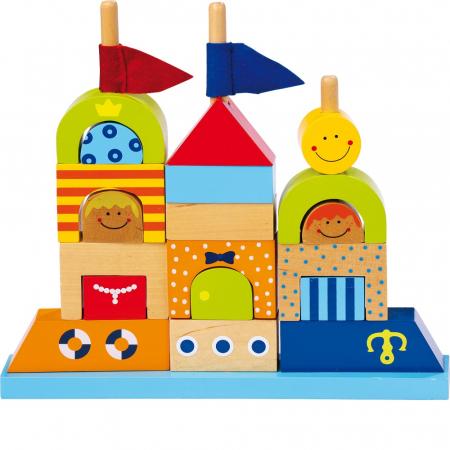 "Puzzle lemn ""Castelul de nisip"" - Legler0"
