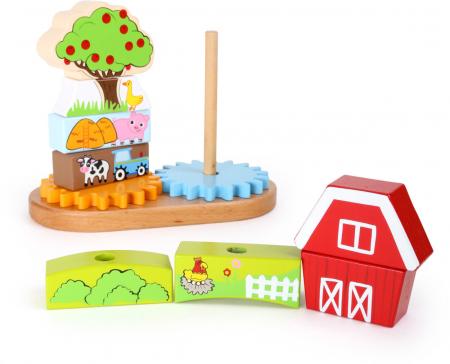 Puzzle lemn Ferma - Legler2