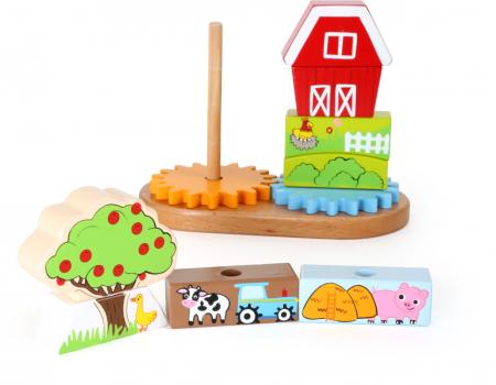 Puzzle lemn Ferma - Legler3