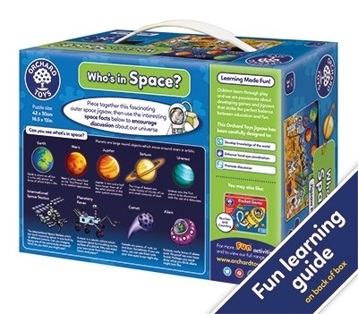 Puzzle Spatiul cosmic (25 piese) WHO'S IN SPACE4