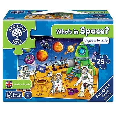 Puzzle Spatiul cosmic (25 piese) WHO'S IN SPACE0