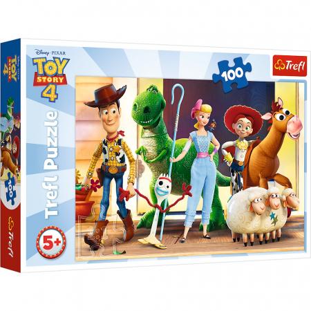 Puzzle Trefl 100 Eroii ToyStory4 [0]