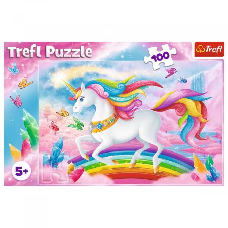 Puzzle Trefl 100 Lumea de cristal a unicornilor [2]