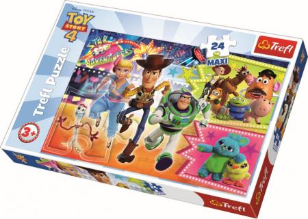 Puzzle Trefl 24 maxi aventura jucariilor [0]