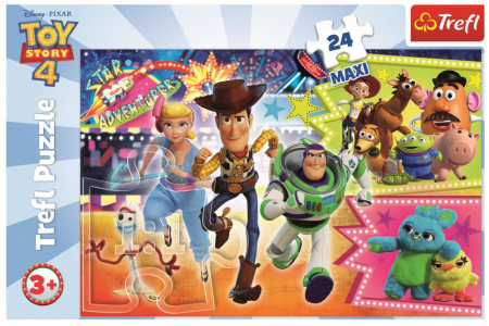 Puzzle Trefl 24 maxi aventura jucariilor [2]