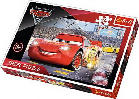Puzzle Trefl 24 maxi campionul MCQueen Cars3 [0]