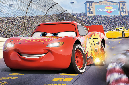 Puzzle Trefl 24 maxi campionul MCQueen Cars3 [1]