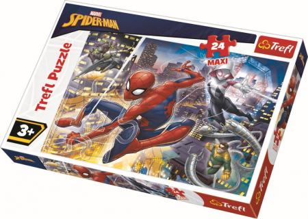 Puzzle Trefl 24 Maxi curajosul Spiderman [0]