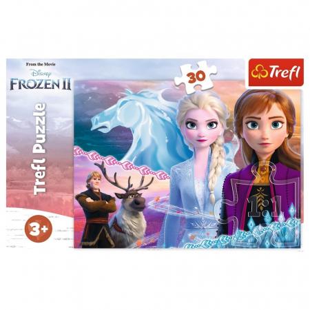 Puzzle Trefl 30 Frozen 2 curajoasele surori [2]