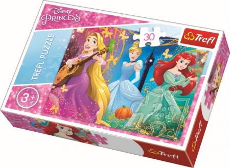 Puzzle Trefl 30 printese Disney [0]