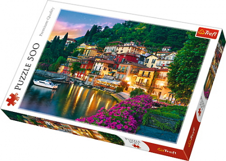 Puzzle Trefl 500 Lacul Como Italia [0]