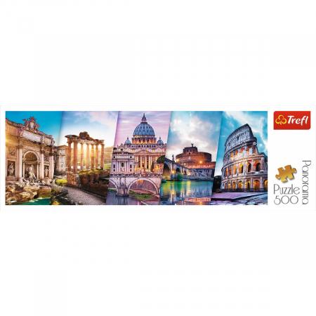 PUZZLE TREFL 500 PANORAMA CALATORIND IN ITALIA [2]