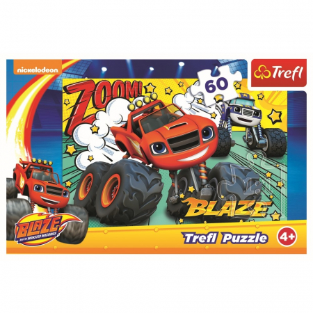 PUZZLE TREFL 60 BLAZE CURSA INFERNALA [2]