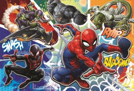 Puzzle Trefl 60 curajosul Spiderman [1]