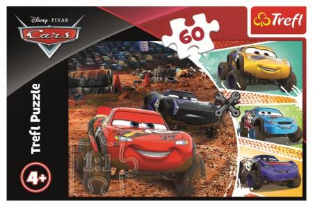 Puzzle Trefl 60 Fulger MCQueen cu prietenii [2]