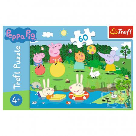 Puzzle Trefl 60 Peppa Pig Distractie in vacanta [2]