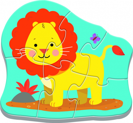 PUZZLE TREFL BABY CLASIC ANIMALE SAFARI [2]