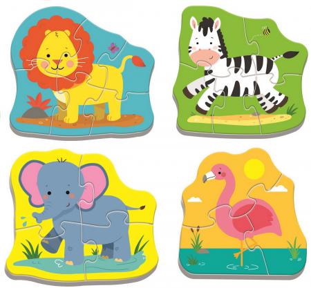 PUZZLE TREFL BABY CLASIC ANIMALE SAFARI [1]